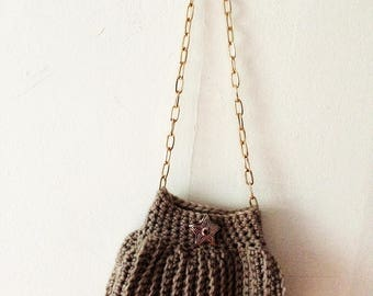 Small wool pouch