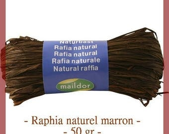 Natural raffia chocolate 50 g