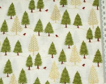 Fabric patchwork - Makower - Christmas 2014 - 04