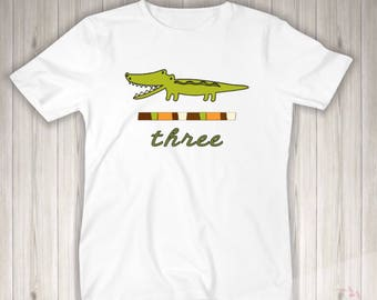 Boys birthday shirt, alligator birthday shirt, boys alligator birthday shirt, birthday shirt