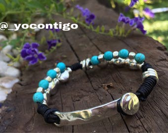 Summer Blue Woman Bracelet