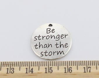 2 Be stronger than the storm Charms - EF00067