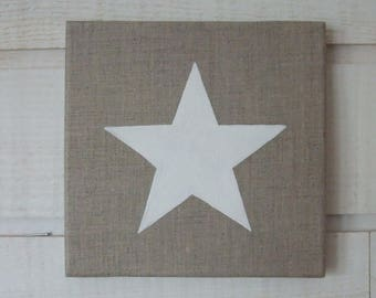 White Star linen canvas