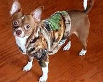 Camo Chihuahua Hoodie