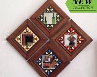 Decorative mirrors game