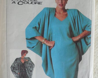Women's Dress, Camisole, Pants and Jacket Pattern - Vintage Simplicity 7849 - Size 10-14