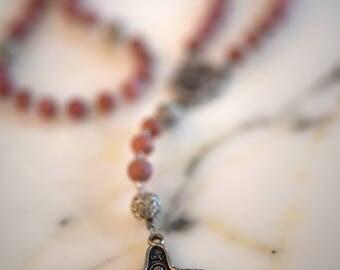 Rhodonite Rosary