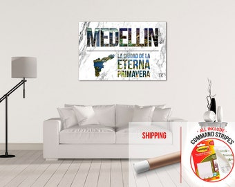Medellin Colombia Beautiful   Matte High Quality Poster