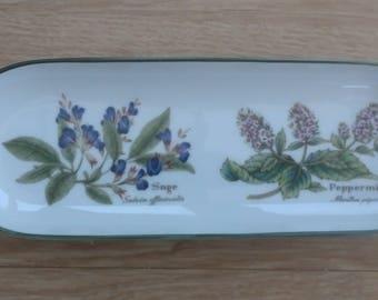 Royal Worcester porcelain dish