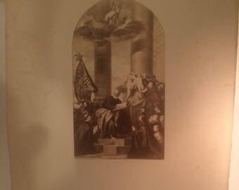 Albumen print - Church of the Frari Venice Circa 1880