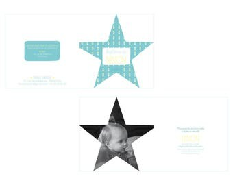 Announcements baptism, geometric and Star