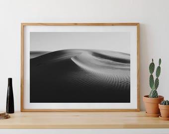Sand dunes, desert, dunes of the desert, dunes of the Sahara, photography sand of the desert, desert photo, Zen photo