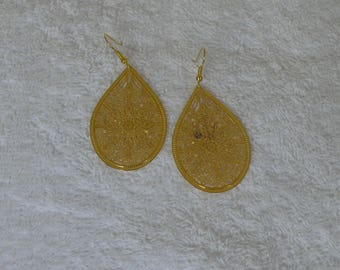 earring and drop gold
