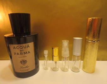 Acqua di Parma - Colonia Leather 1-10ml travel samples.