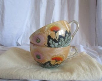 Antique Collectibles Teacups Japan 2 piece