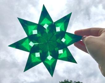 Der Erste (Traditional Window Star, Handmade, 8 points)