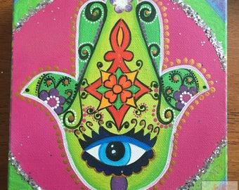 KHAMSA ACRYLIC Painting