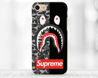 Supreme iPhone X Сase Supreme iPhone 8 Plus Case Supreme Bape iPhone 7 plus case Supreme Shark iPhone 8 Case Supreme Louis Vuitton iphone X