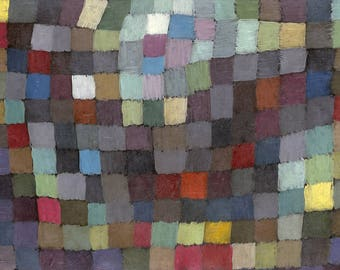 SET of TABLE semi-rigid ORIGINAL AESTHETIC WASHABLE and durable - Abstract artists - Paul Klee - Maibild - classic.