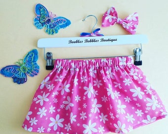skirt and hairbow set