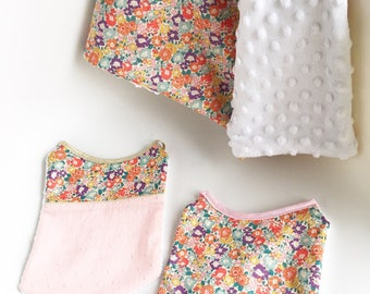 Cover & Liberty MICHELLE girl bibs