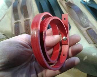 Bracelet Double Red