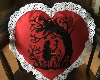 Red Riding Hood Cushion