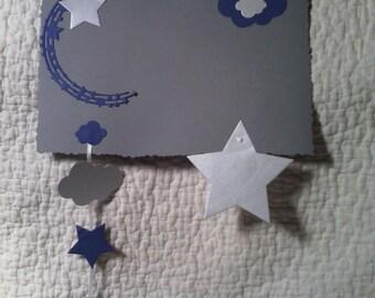 Baby/child wreath, door, starry sky theme room