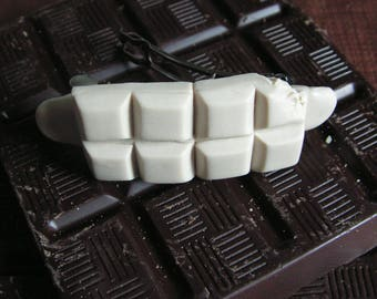 Mini white chocolate bar