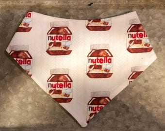 Nutella pet bandana