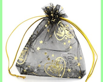 organza N30 bag 11, 5 X 9, 5 cm pocket to embellish your gifts