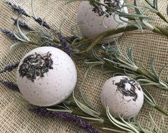 Lavender Bath Bombs- Set of 3