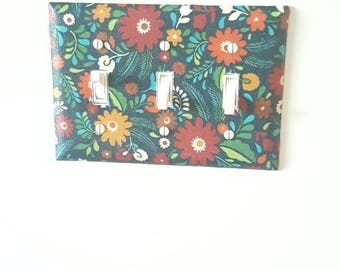 Wall plate (Floral)