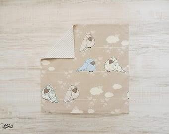 Cushion cover 40 x 40 child - bird 1