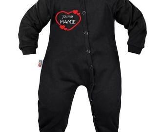 Baby pyjamas: I love Grandma