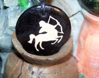 Sagittarius zodiac sign pendant necklace Locket