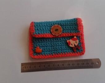 Colorful purses, Tobacco pouches, Pencil cases, Small change purse,
