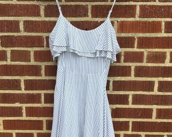 Pinstripped Factorie Dress