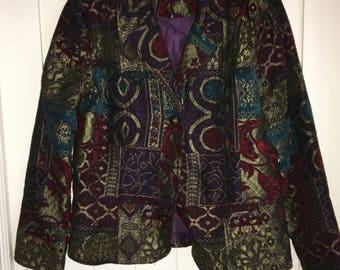 Ornate Quilt Sports Jacket