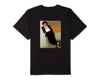 supreme michael jackson in supreme box logo t-shirts NEW free fast shipping mens black white