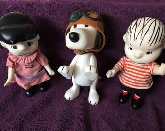 1960 Peanuts Pocket Dolls