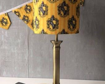 Harry Potter Hogwarts 'Hufflepuff' Lamp Shade