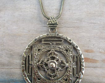 Pendant of bronze Elementos4 + 1 cb-004 choker brass