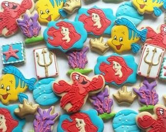The Little Mermaid Cookies