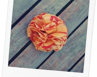 This hair stick, hair flower barrette ball colors