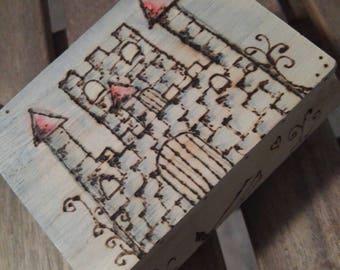 Castle treasure chest