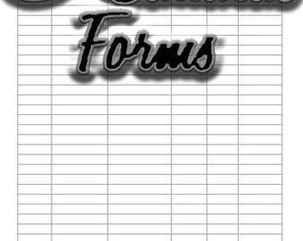 Inventory, Inventory Control, Business, Form