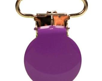 Purple Purple Purple clip 25mm clip baby