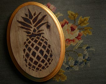 Woodburn Pineapple Wall Hanging