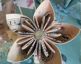 Origami Kusudama Paper Flower